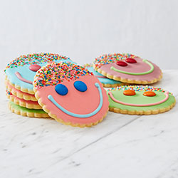 Mixed coloured happy face thumbnail