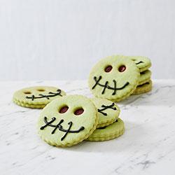 Halloween stitch face cookies thumbnail