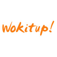 Wok it up catering logo