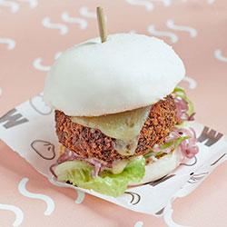 Mushroom bao burger thumbnail