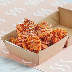 Sweet potato waffle fries thumbnail