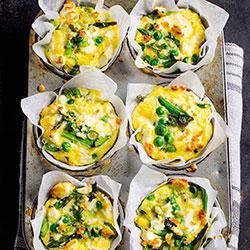 Freshly baked frittata - mini thumbnail