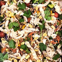 Crunchy Thai chicken salad thumbnail