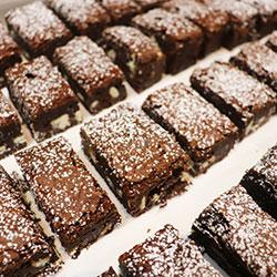 Triple chocolate brownie bite thumbnail
