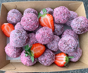 Berry delicious protein ball thumbnail