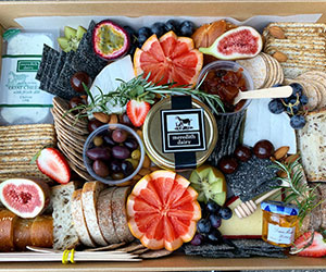 Premium cheese and fruit platter thumbnail