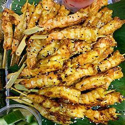 Chermoula prawn skewers thumbnail