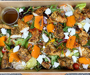Chermoula spiced chicken salad thumbnail
