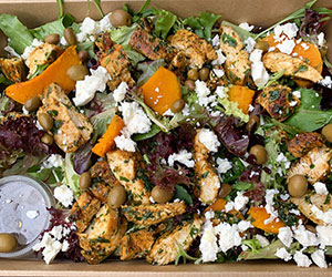 Chermoula spiced chicken salad thumbnail