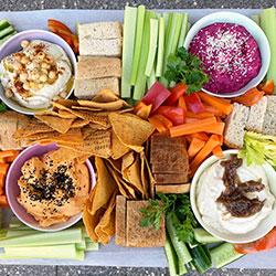 Gluten free house dips platter thumbnail