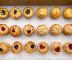 Gluten free friands - mini thumbnail