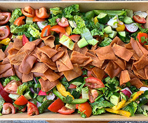 Summer fattoush salad thumbnail