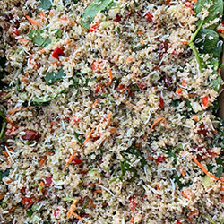 Superfood coconut quinoa salad thumbnail