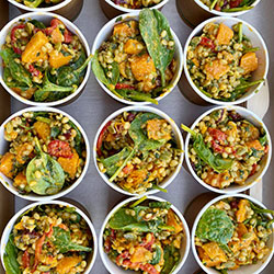 Superfood roast pumpkin and freekeh salad thumbnail