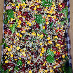 Superfood quinoa and bean salad thumbnail