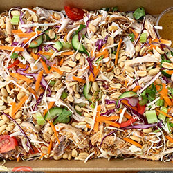Crunchy Thai chicken salad thumbnail