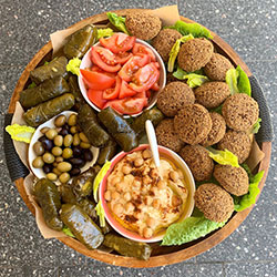 Vegan and gluten free lovers platter (40 Pieces) thumbnail