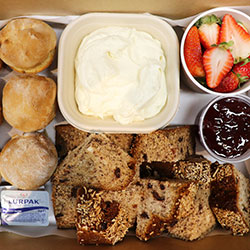 Scones, cream and jam box thumbnail
