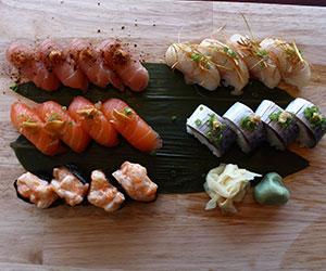 Nigiri sushi thumbnail