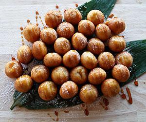 Taro doughnut thumbnail