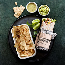 Burrito and chips lunch thumbnail