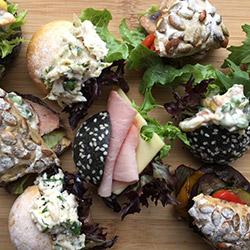 Mini sandwiches platter thumbnail