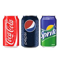 Soft drinks - 375ml thumbnail