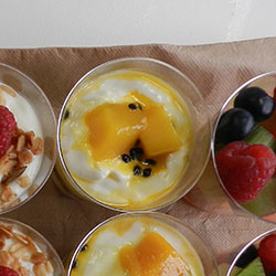 Yoghurt and compote cup thumbnail